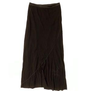 NEW Black Soft Maxi Skirt